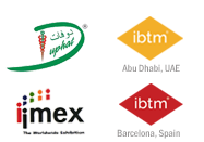In 2014 you can find us at GIBTM, IMEX and EIBTM